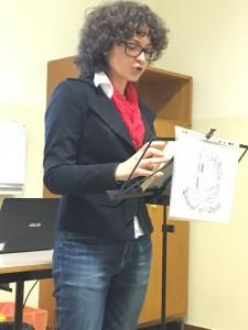 Elisa Baggiarini, presidente dell'associazione