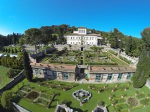 Villa Caprile vista dall'alta