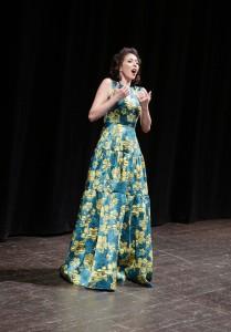 Lisette Oropesa nell'applauditissimo concerto (Foto Amati Bacciardi)