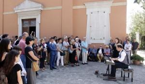 Canta Victoria Yarovaya, si riconoscono Gianfranco Mariotti e Pier Luigi Pizzi