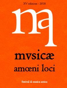 Musicae Amoeni loci 2018