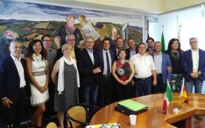L'incontro con delegazione di Rastatt in Provincia