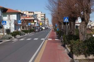 Ciclopedonale Viale Adriatico Fano