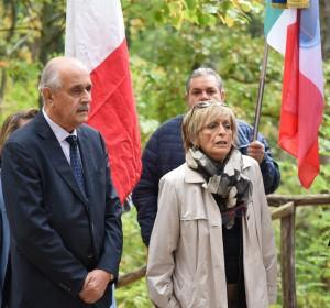 Fausto Luzi (Anmil) e il Prefetto Carla Cincarilli