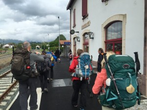 I pellegrini arrivano a Saint-Jean-Pied-de-Port, località da dove parte il Cammino Francese