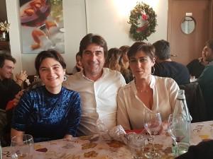 Mariangela Albertini, Andrea Giancarli e Cinzia Tamburini