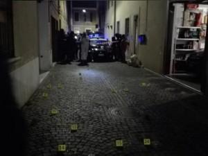 Il luogo dell'omicidio a Pesaro (foto Occhio alla Notizia tratta dal web)