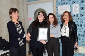 Da sinistra: Stefania Antonioni, Glenda Guidetti, Chiara Bertuccini e Gea Ducci