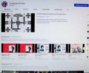 Canale YouTube la Musica di Fano