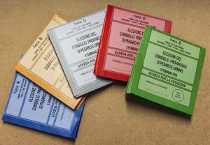 Schede elettorali per Consiglio provinciale