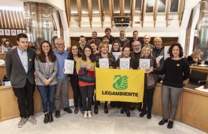I sindaci dei Comuni Ricicloni e Rifiuti Free premiati da Legambiente