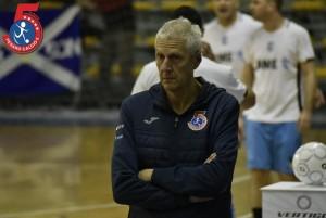 L'allenatore dell'Italservice Fulvio Colini
