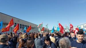 Il precedente sciopero dei lavoratori Rivacold del