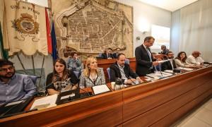L'intervento del sindaco Matteo Ricci