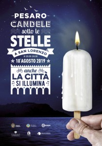 Candele sotto le stelle