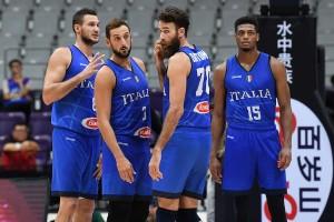 L'Italia di basket (Foto Ciamillo)