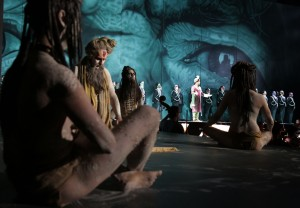 Il tenore siciliano impegnato in Semiramide (Foto Amati Bacciardi)
