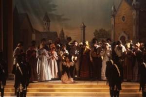 Una foto storica: 28 agosto 1988, è la prima del Rossini Opera Festival