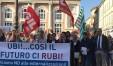 La manifestazione svoltasi a Pesaro