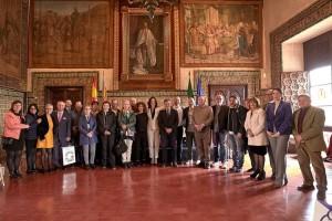 Foto di gruppo del viaggio-gemellaggio Gandia-Fano
