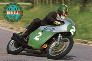 La leggenda Kel Carruthers campione del mondo classe 250 su Benelli nel 1969