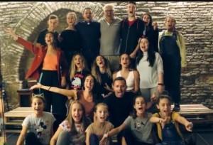 I giovani allievi della scuola Pianeta Musica
