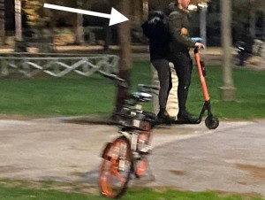 In due sul segway