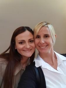 Elisa Cella con Antonella Del Core