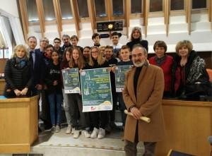 Foto di gruppo Presentazione premio Luci nel Buio della Shoah (1)