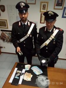Il sequestro di droga a Marotta