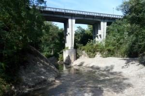 Ponte sulla SP 141 circonvallazione di Pergola