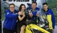 La fotomodella fanese Melissa Caldari alla Concessionaria Suzuki di Rimini per la presentazione della Suzuki VStrom 1050 00014