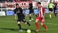 Andrea Tessiore in azione palla al piede nell'ultima partita casalinga giocata con il Vicenza