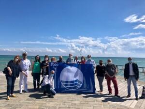 La Bandiera blu al Moletto di Pesaro