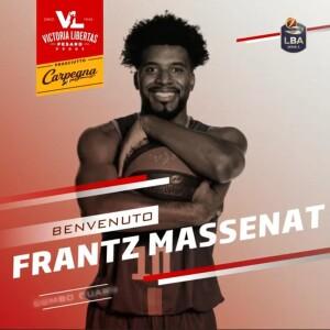 Frantz Massenat (screenshot tratto dal video della Vuelle)