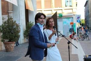 Andrea Biancani e Micaela Vitri