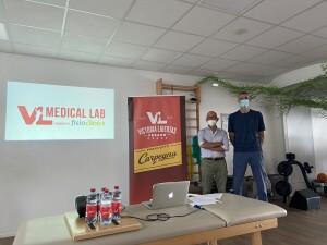 Ario Costa e Piero Benelli mostrano il marchio di un progetto davvero unico