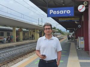 Baldelli in stazione