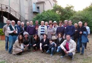Una foto della festa degli 80 anni di Vittorio Gennari