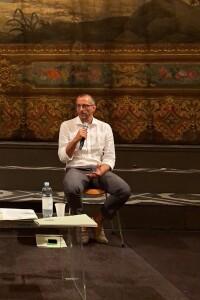 Il sindaco Ricci durante la presentazione del ROF 2020 (Foto Amati Bacciardi)