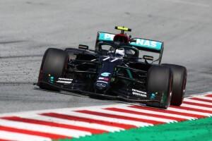 Valtteri Bottas, pole e vittoria in Austria