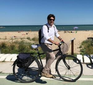 Andrea Biancani bici lungomare