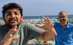 Lorenzo Ercoles con Matteo Ricci