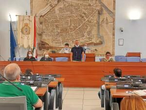 Matteo Ricci in Consiglio comunale