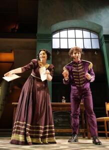 Martiniana Antonie (Clarina) e Pablo Galvez (Norton)(Foto Amati Bacciardi)