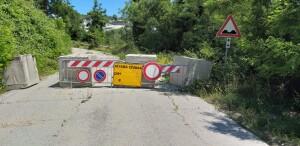 Strada Sp 94 Monterolo attualmente chiusa al traffico