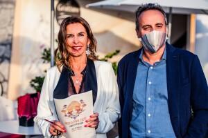 Cristina Tassinari e il sindaco Domenico Pascuzzi