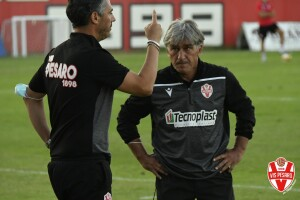 Mister Giuseppe Galderisi col vice Daniele Cavalletto