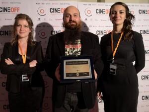 Michele Conti ritira il premio