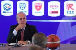 Umberto Gandini, presidente di LBA (dalla pagina Facebook di Legabasket)